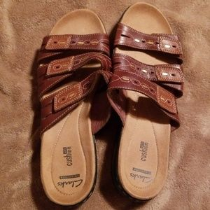 NWOT Clarks Collection sandals size 9